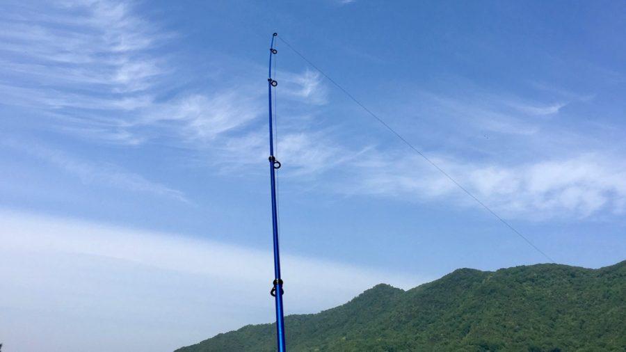 rod and sky